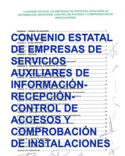 CONVENIO AUXILIARES