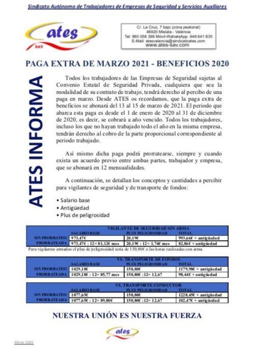PGA EXTRA DE MARZO 2021